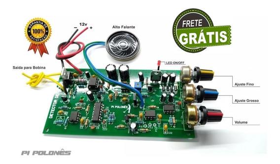 Detector De Metais Pi Polonês Placa Pronta Com Frete Grátis