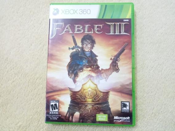 Jogo Fable 3 Xbox 360 Original
