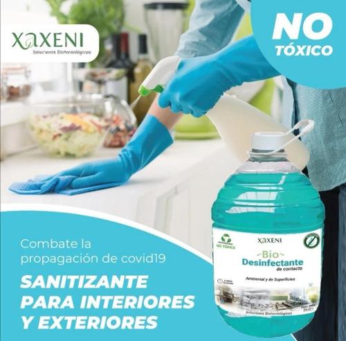 Bio Desinfectante De Contacto, Superficies Y Ambiental 5lt