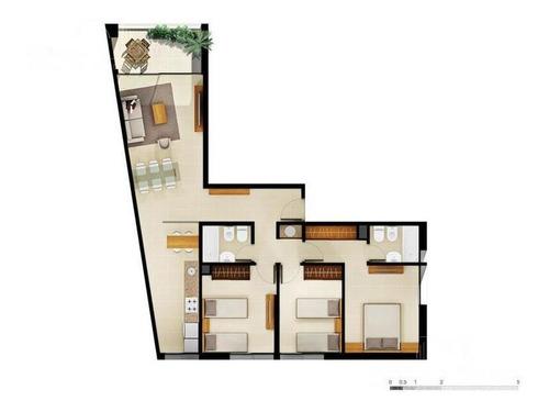 Departamento - Parque Batlle, 3 Dormitorios, 2 Baños, A Estrenar, Bbva Hasta 25 Años.