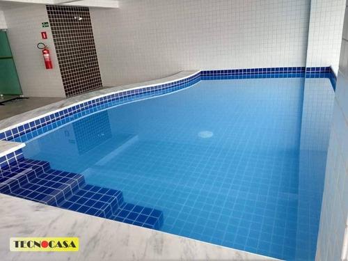 Excelente Apartamento Com 02 Dormitórios Para Venda Com  72 M² No Bairro Cidade  Ocian Em  Praia Grande/sp. - Ap6630