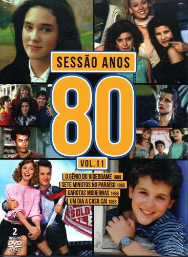 Dvd Sessao Anos 80 - Volume 11 - Opc - Bonellihq B21