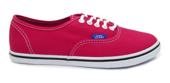 Tenis Vans Authentic Lo Pro Pop Vn000w7nfka Rose Red Purple