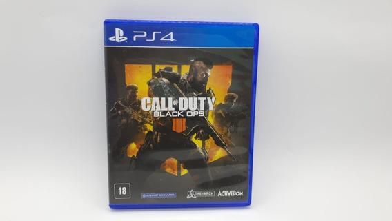 Call Of Duty Black Ops 4 - Ps4 - Cd Original