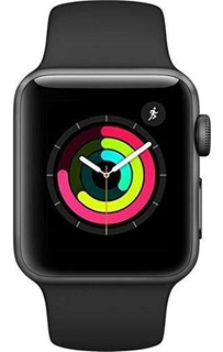 Apple Watch Iwatch Series 3 42mm Space Gray Contra Agua Msi