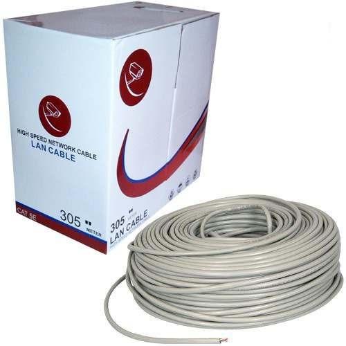 Cable De Red Utp Cat5e 50 Metros Cctv Lan 24awg Verificado