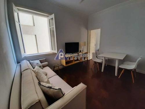 Imagem 1 de 30 de Excelente Apartamento De Dois Quartos Em Botafogo. - 3979