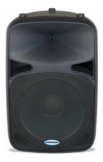 Caja Bafle Samson Auro 15¨ + Driver 250 Watts Rms Sale%