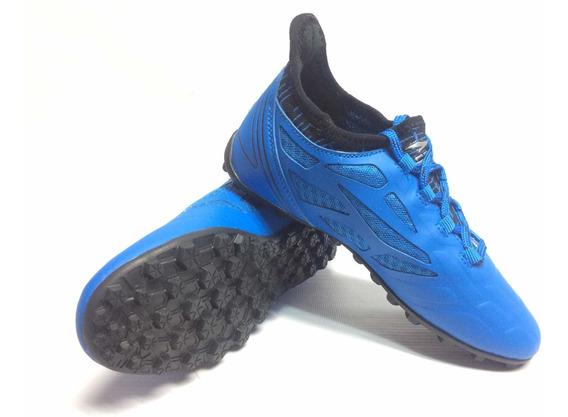 Zapato Semi Taco Rs21 Juvenil Azul