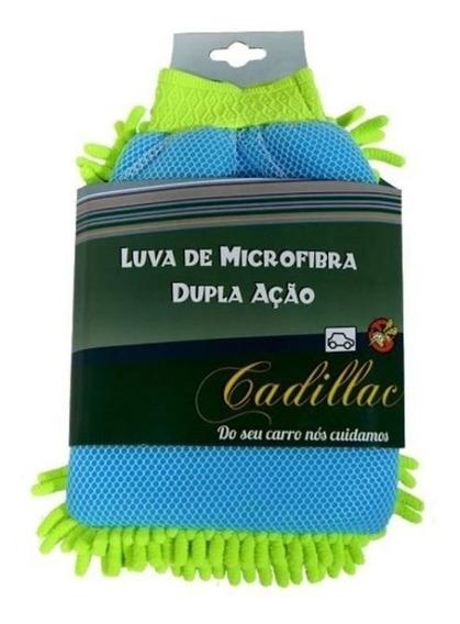 Luva De Microfibra - Lavagem + Remoção De Insetos Cadillac