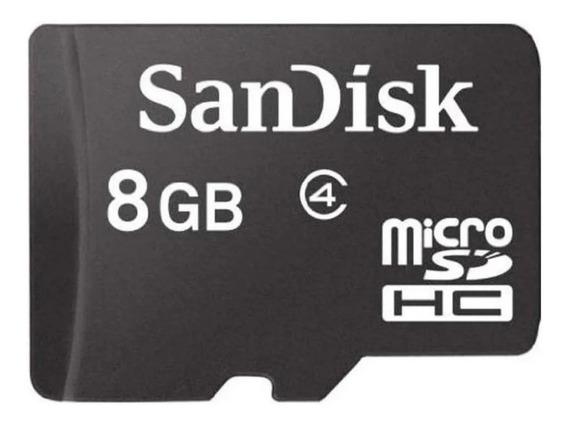 Cartão De Memória Microsd Sandisk 8gb Original