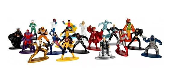 Marvel Nano Metalfigs 20 Figuras X Men Wolverine + Fênix