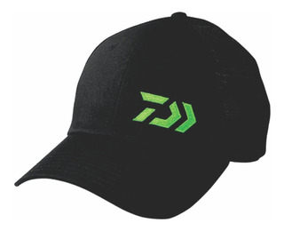 Gorra Daiwa Tipo Troquero Negro/verde