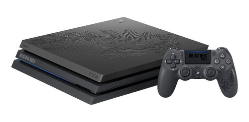 Sony PlayStation 4 Pro 1TB The Last of Us Part II Limited Edition negro mate