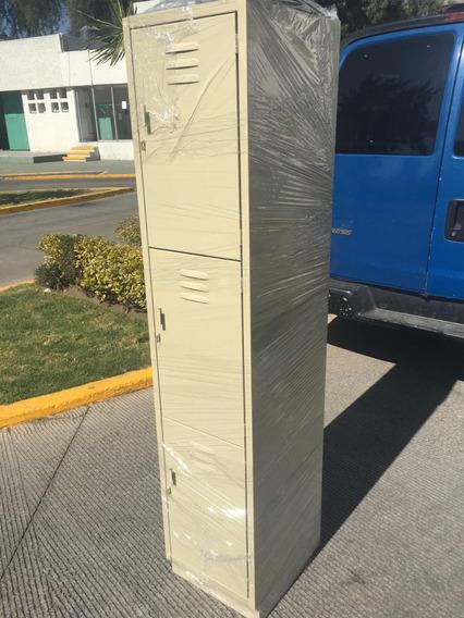 Lockers Casilleros Nuevos 3 Puerta Para Exigentes Envíos Df