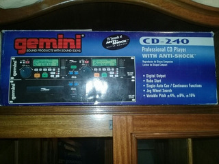 Compactera Gemini Cd240 Totalmente Original