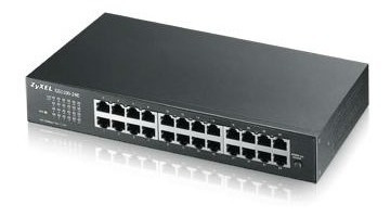 Imagen 1 de 8 de Switch Zyxel Gs1100-24 Puertos- Gigabit - 2 Sfp 10/100/1000