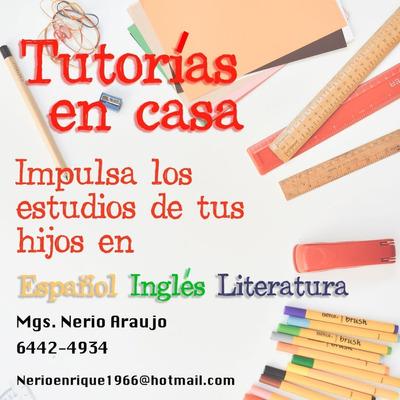 Tutorías De Inglés, Español Y Literatura