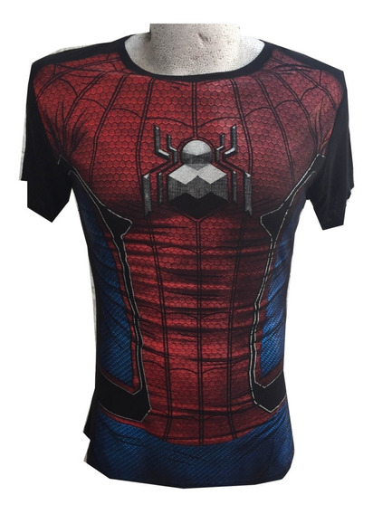 Playera Spiderman Talla Xl Envío Gratis