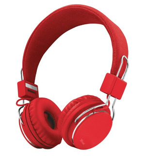 Auricular Trust Vincha Plegable Manos Libres Mic Celular Cuo