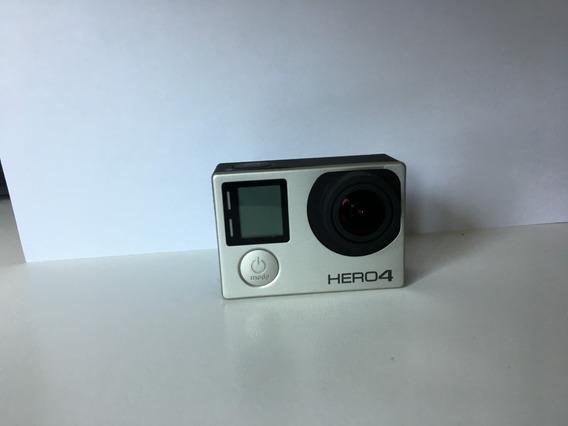 Gopro Hero4 Silver Edition + Acessorios De Fabrica E Extras