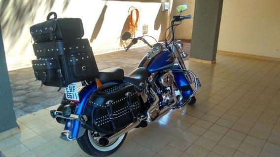Harley Heritage Classic Estado De Zero! Com 17.000km Impec