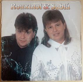 Rouxinol E Sabia 1991 Lp Vinil