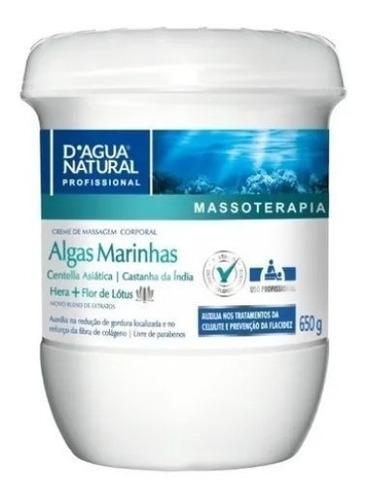 Creme Corporal Algas Marinhas Bio Ativo 650g Dagua Natural