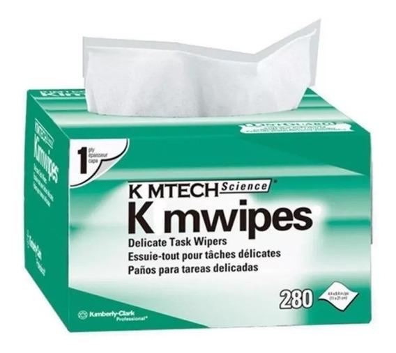 Papel Limpeza De Conectores Ópticos Fibra Optica Kimwipes