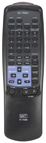 Controle Aiwa Rc-tn999 1 Cd, 3 Cds Função Karaokê C0100