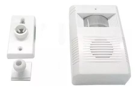 Anunciador De Presença Chime Alarme Sensor Ding Dong