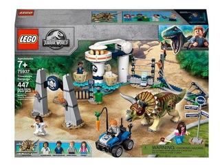 Lego Jurassic World Caos Del Triceratops 75937