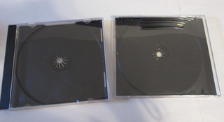 Lote X90 Cajas De Cd Usadas En Buen Estado