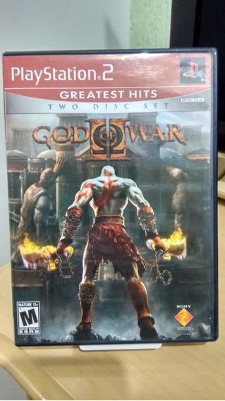 God Of War 2 Ps2 Original Americano Ntsc Usado