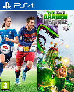 Fifa 16 + Plants Vs Zombie Garden Warfare Ps4 Digital Gcp
