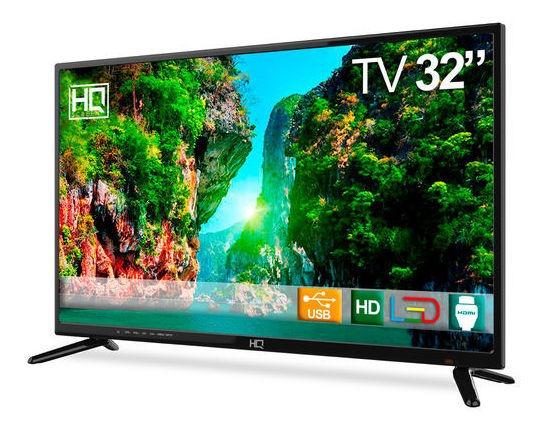 Tv Led 32 Hq Hqtv32 Hd Conversor Digital 3 Hdmi 2 Usb
