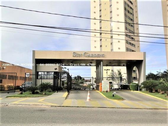 Apartamento Para Venda Em Natal, Pitimbu/satélite - Condomínio Sun Garden, 2 Dormitórios, 1 Suíte, 2 Banheiros, 2 Vagas - Ap1169-sun Gardens
