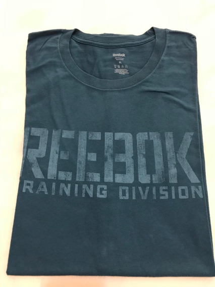 Camiseta Básica Reebok Tamanho Gg Xl Original Bom Estado