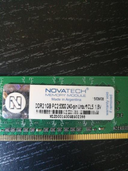 Memoria Ram Pc 1gb Pc2 5300 667mhz