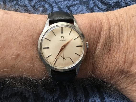 Relógio Omega Calibre 266 - Fabricado Em 1952 - Um Show!