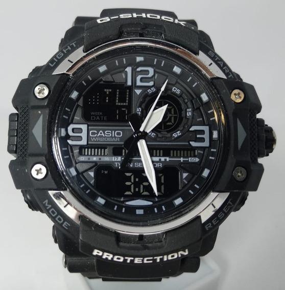 Relógio Casio 1092 Gpw-8600 Similar G-shock Preto