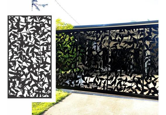 Chapa Perforada Decorativa 1,2 Mts X 0,60 Mts Diseño Envios
