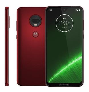 Smartphone Motorola Moto G7 Plus, 6,2, 64gb, Dualchip, Rubi