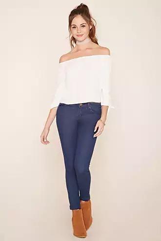 Calça Feminina Jeans Forever 21| Original Importado Eua