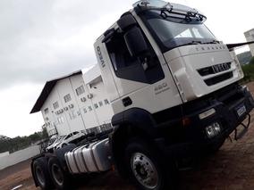 Iveco Trakker 6x4 -48 T- Ano/mod 2012/2013 - 62000km-