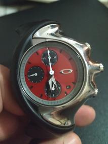 Relógio Oakley Detonator Chronograph/polished + Peças Extras