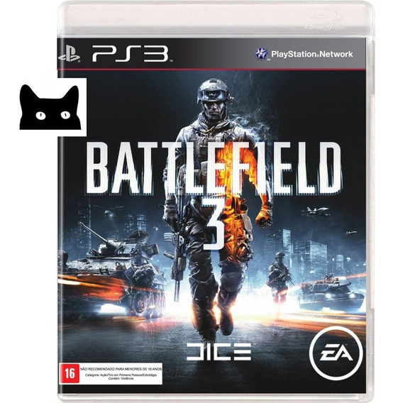 Battlefield 3 Ps3 Playstation 3 Disco Original