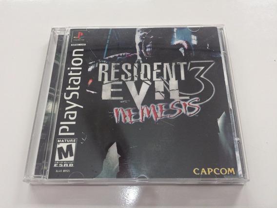 Resident Evil 3 - Psone Patch Legendado Em Português