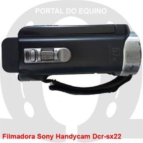 Câmera Sony Handycam Dcr-sx22