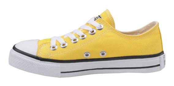 Tênis Converse All Star Cano Baixo Amarelo